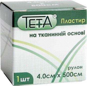 Пластырь медицинский Teta на тканевой основе, катушка, 4 х 500 см, 1 штука