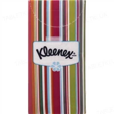 Платочки бумажные Kleenex Original белые №10