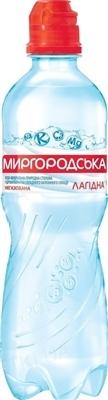 Вода минеральная Миргородская Лагидная Спорт негазированная, 0,5 л
