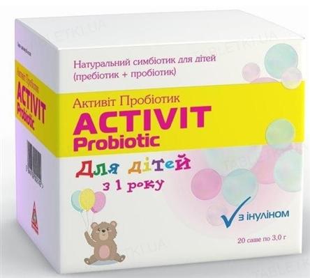 Активит Пробиотик для детей порошок №20 в пак.