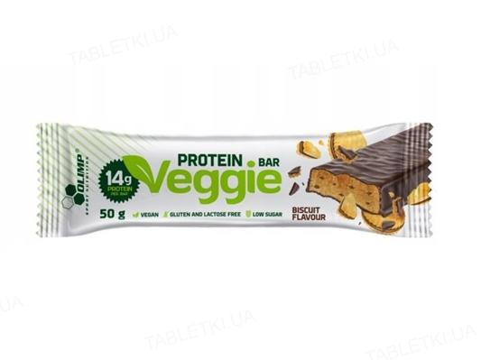 Батончик Olimp Veggie Protein Bar печенье, 50 г