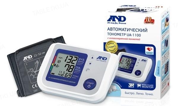 Тонометр AND UA-1100 автоматический