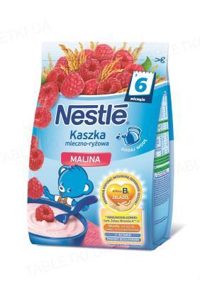 Молочная каша Nestle рисовая с малиной, с 6 месяцев, 230 г