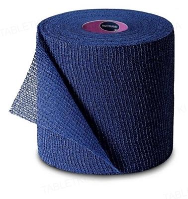 Бинт когезивный Peha-haft Color фиксирующий 10 см х 4 м, синий