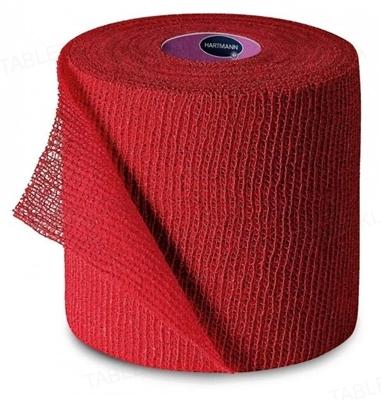 Бинт когезивный Peha-haft Color фиксирующий 6 см х 4 м, красный