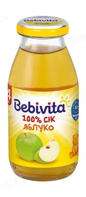 Фруктовый сок Bebivita Яблоко, 200 мл