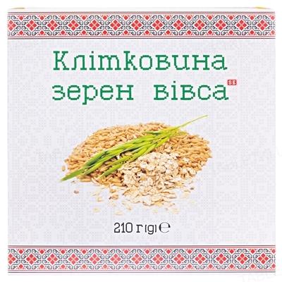 Клетчатка зерен овса Фармаком, 210 г