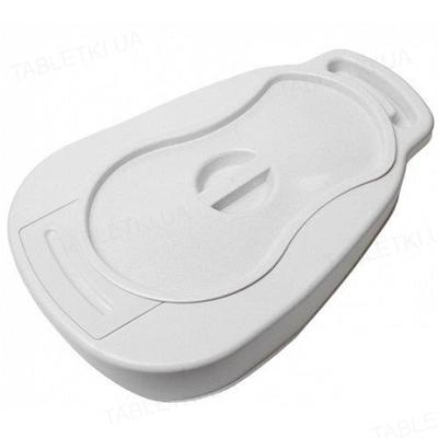 Судно подкладное Gamma пластиковое с крышкой