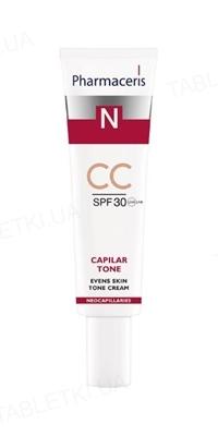 Крем-СС Pharmaceris N Capilar-Tone тонирующий для куперозной и гиперчувствительной кожи, SPF 30, 40 мл