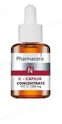 Концентрат Pharmaceris N C-Capilix укрепляющий и разглаживающий с витамином C 1200 мг, 30 мл