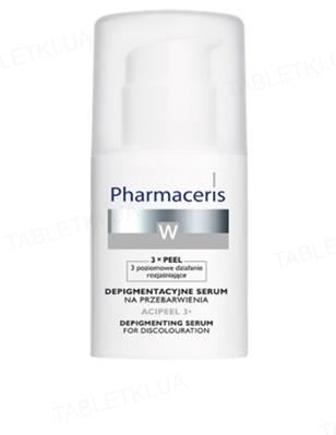 Сыворотка Pharmaceris W Acipeel 3x депигментационная против пигментных пятен, 30 мл