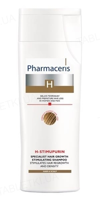 Шампунь Pharmaceris H H-Stimupurin специализированный,стимулирующий рост волос, 250 мл