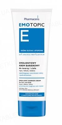 Крем для лица и тела Pharmaceris E Emotopic барьерный эмолентный  от шероховатости и раздражения кожи, 75 мл