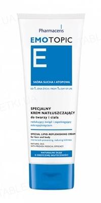 Крем для лица и тела Pharmaceris E Emotopic специальный питательный от зуда и микротрещин, 75 мл