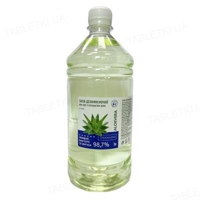 Средство дезинфицирующее Леда с хлоргексидином 0,25% и экстрактом алоэ для наружного применения, 1000 мл