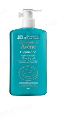 Гель для лица и тела Avene Cleanance очищающий для проблемной кожи, 400 мл