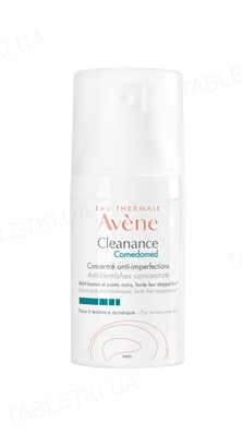 Концентрат Avеne Cleanance Comedomed против пятен для проблемной кожи склонной к акне, 30 мл