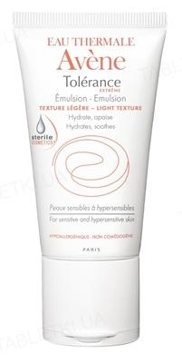 Емульсія Avene Tolerance Extreme зволожуюча для чутливої та гіперчутливої шкіри, 50 мл