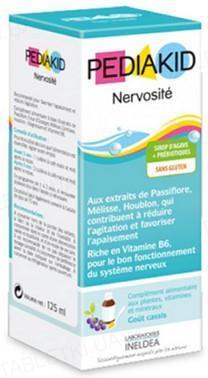 Педиакид PEDIAKID сироп для снятия повышенной возбудимости и нервозности, 125 мл