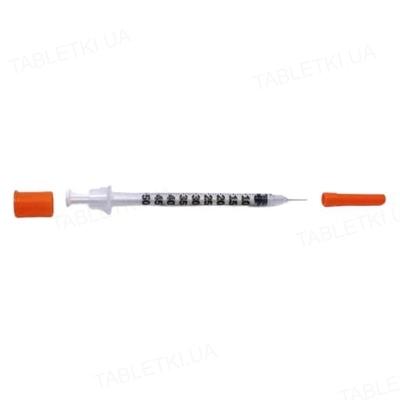 Шприц инсулиновый 0,5 мл Insumed 30G, 1 штука
