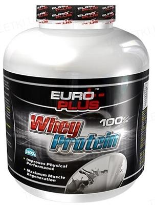 Протеїн Euro Plus Whey Protein для спортсменів, 810 г, банка