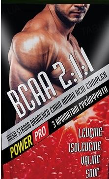 Суміш амінокислотна Power Pro ВСАА 2: 1: 1 з ароматом грейпфруту, 500 г