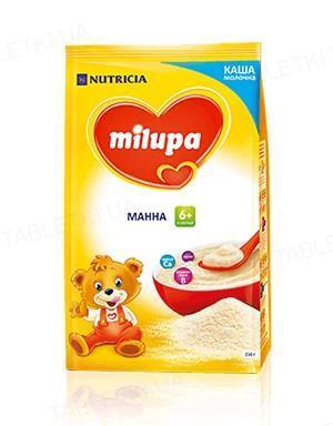 Молочная каша Milupa манная для детей с 6 месяцев, 210 г