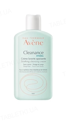 Крем для умывания Avene Cleanance Hydra успокаивающий, очищающий для проблемной кожи, 200 мл