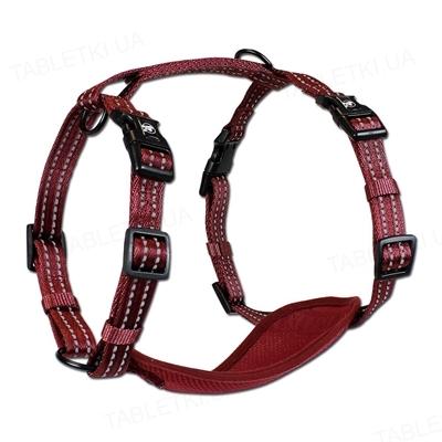 Шлея для собак Alcott Adventure размер XS от 1 до 3 кг, красный