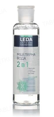 Мицеллярная вода Leda 2в1 с протеинами шелка, 200 мл