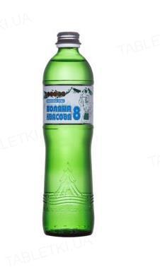 Вода минеральная Поляна Квасова-8 сильногазированная, стеклянная бутылка, 0,5 л