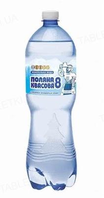 Вода минеральная Поляна Квасова-8 сильногазированная, 1,5 л