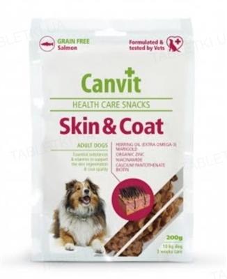 Лакомство для собак Canvit Skin and Coat, 200 г