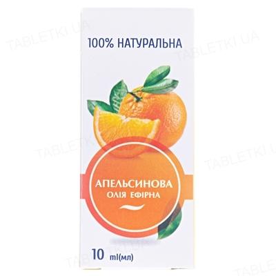 Эфирное масло Вертекс Апельсиновое, 10 мл