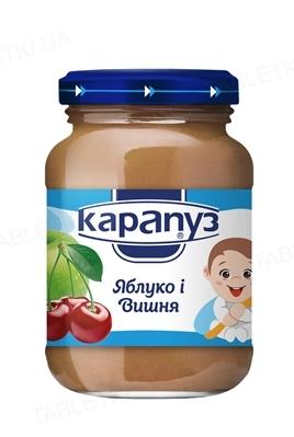 Фруктовое пюре Карапуз Яблоко и Вишня, 200 г