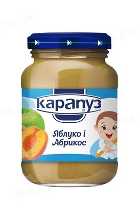 Фруктовое пюре Карапуз Яблоко и абрикос, 200 г
