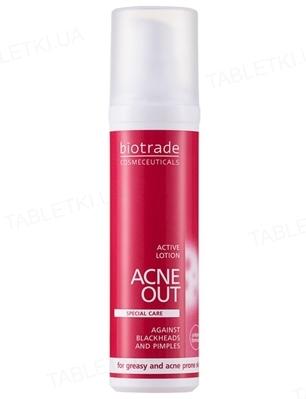 Лосьон Biotrade Acne Out активный, против угревой сыпи, 10 мл