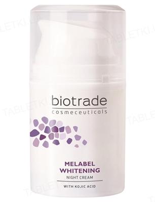 Крем Biotrade Melabel отбеливающий ночной для кожи с гиперпигментацией, 50 мл