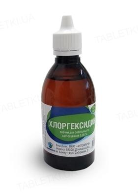 Хлоргексидин раствор д/наруж. прим. 0.05 % по 100 мл во флак. полим. с насад.
