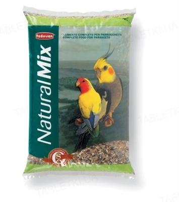 Корм для средних попугаев Padovan NaturalMix parrocche, 4,5 кг