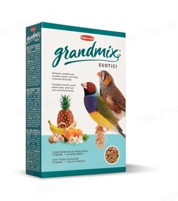 Корм для экзотических птиц, амадинов Padovan GrandMix Esotici, 400 г