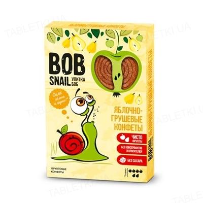 Цукерки Bob Snail натуральні яблучно-грушеві, 60 г