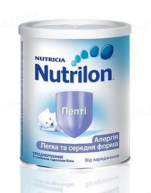 Сухая молочная смесь Nutrilon Пепти для питания детей от рождения, 400 г