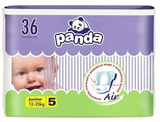 Подгузники детские Panda junior, размер 5, вес 12-25 кг, 36 штук