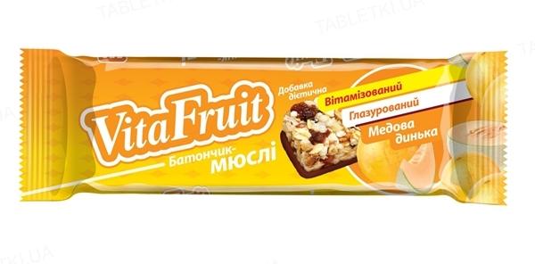 Батончик-мюсли Vita Fruit Медовая дынька по 25 г в оберт.