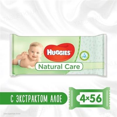 Детские влажные салфетки Huggies Natural Care, 224 штук