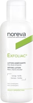 Лосьон Noreva Exfoliac для лица и тела, для проблемной кожи, 125 мл