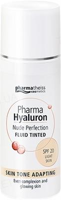 Тонирующий флюид Pharma Hyaluron Nude Perfection, тон светлый, light, с SPF 20, 50 мл