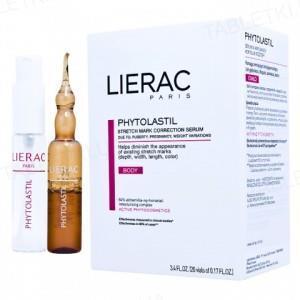 Ампули для тіла Lierac Phytolastil, для коррекції розтяжок,  20 х 5 мл