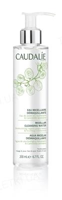 Мицеллярная вода Caudalie для снятия макияжа с лица и глаз, 200 мл